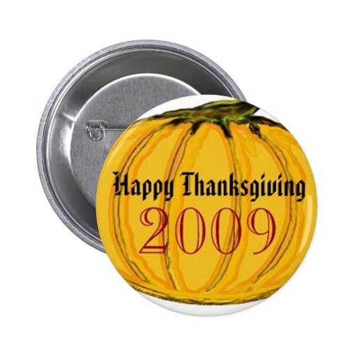 The MUSEUM Artist Series by jGibney Thanksgiving Pinback Buttons