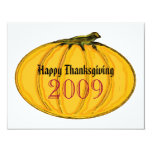 The MUSEUM Artist Series by jGibney Thanksgiving Personalized Announcement