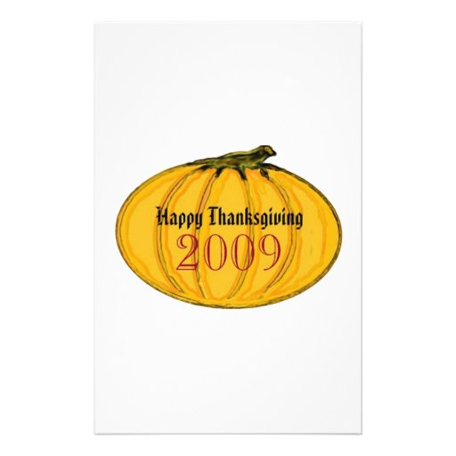 The MUSEUM Artist Series by jGibney Thanksgiving Customized Stationery