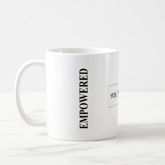 The MUSEUM Artist Series EMPOWERED MOMs Are Happy Basic White Mug