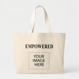 The MUSEUM Artist Series EMPOWERED MOMs Are Happy Jumbo Tote Bag