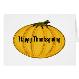 The MUSEUM Artist Series Happy Thanksgiving 1a Greeting Card