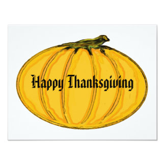 The MUSEUM Artist Series Happy Thanksgiving, 2009 11 Cm X 14 Cm Invitation Card