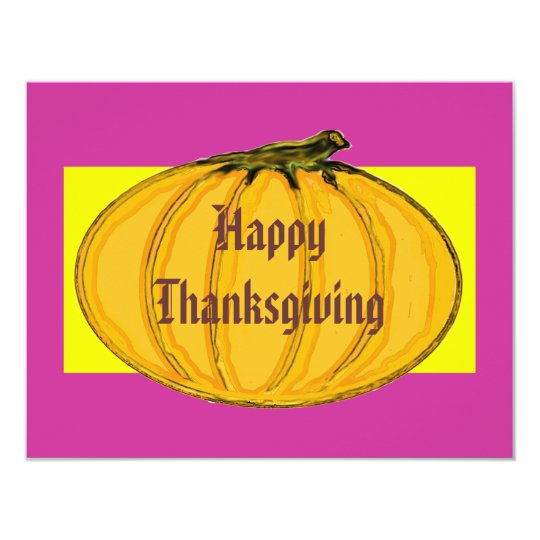 The MUSEUM Artist Series Happy Thanksgiving 2 yw Card
