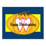 The MUSEUM Artist Series Happy Thanksgiving 2a yw 11 Cm X 14 Cm Invitation Card