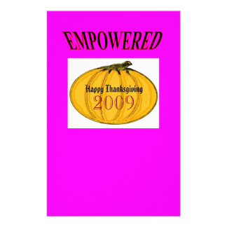 The MUSEUM Artist Series jGibney Happy 2009Empowed Personalized Stationery