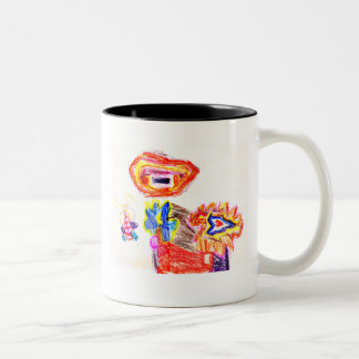 The MUSEUM Artist Series Kaitlyn's Sun and Flower1 Mug