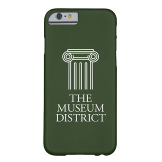 The Museum District logo Barely There iPhone 6 Case