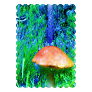 "The Mushroom 5"" X 7"" Invitation Card"