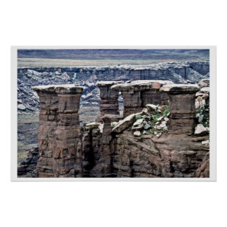 The Mushrooms - Canyonlands National Park Print