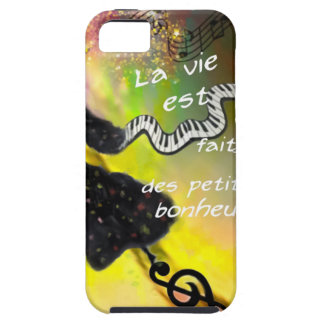 The music brings happiness to our life iPhone 5 case