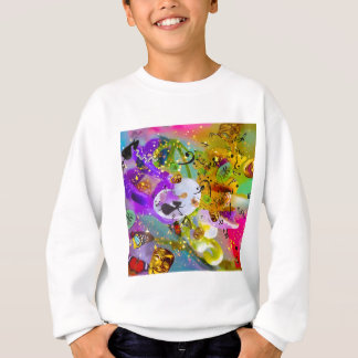 The music can express everything and say nothing. sweatshirt