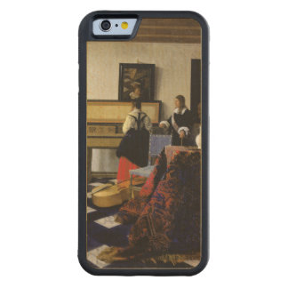 The Music Lesson by Johannes Vermeer Carved Maple iPhone 6 Bumper Case