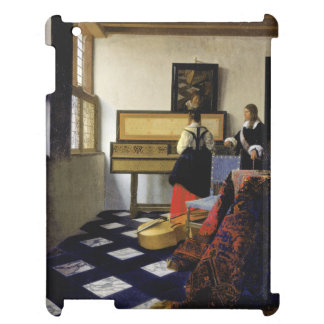 The Music Lesson by Johannes Vermeer Cover For The iPad