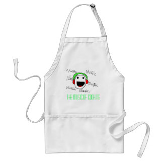 The Music of Cooking Standard Apron