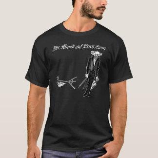 The Music of Erich Zann 2 on Black T-Shirt