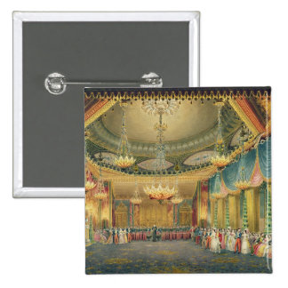 The Music Room from Views of the Royal Pavilion Pins