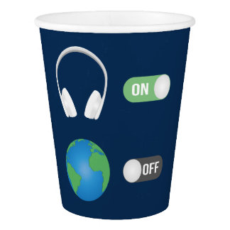The Music Switch Paper Cup