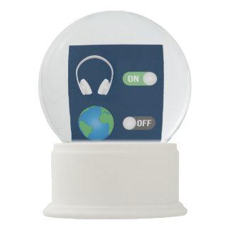 The Music Switch Snow Globe