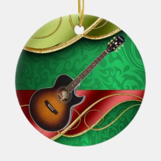 The Musician Ceramic Ornament