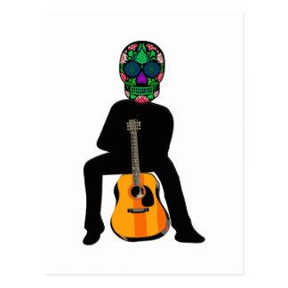 The Musician Postcard
