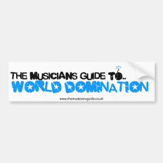 The Musician's Guide Bumper Sticker