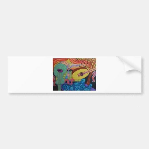 The musician's room bumper stickers