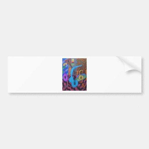 the musician's studio bumper sticker