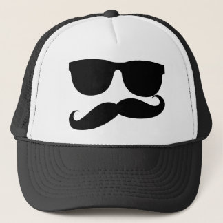 The Mustache Man Trucker Hat