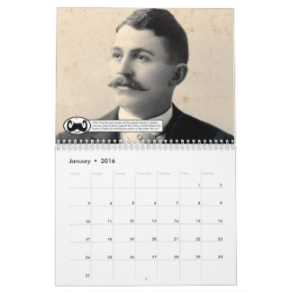 The Mustaches of Placer County Calendars