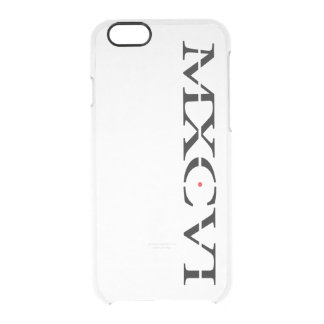 The MXCVI Case Clear - iPhone 6/6s