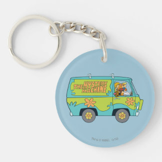 The Mystery Machine Shot 13 Double-Sided Round Acrylic Key Ring