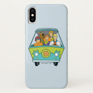 The Mystery Machine Shot 16 iPhone X Case