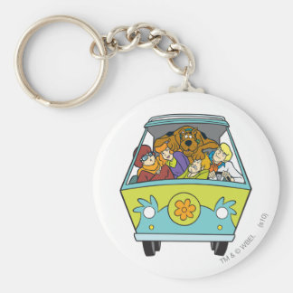 The Mystery Machine Shot 18 Key Ring