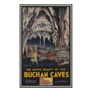 The mystic beauty of the Buchan Poster