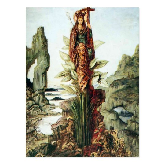 The Mystic Flower by Gustave Moreau Postcard