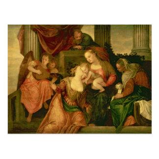 The Mystic Marriage of Saint Catherine Postcard