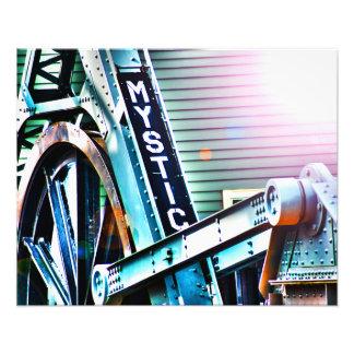 The Mystic River Drawbridge As I See It Photo Print