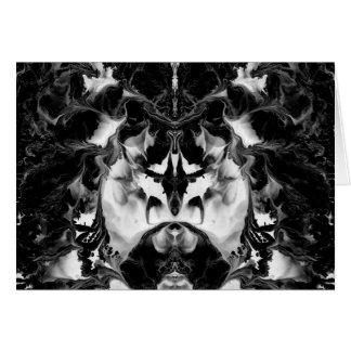 THE MYSTIC WAY (black & white art) ~ ~ ~ ~ Greeting Card