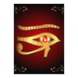 The mystical all seeing eye card