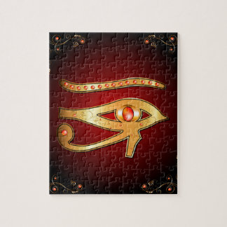 The mystical all seeing eye jigsaw puzzle