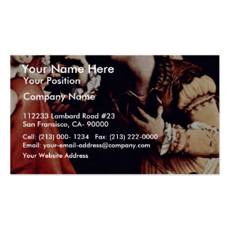 The Mystical Marriage Of St. Catherine Of Siena De Pack Of Standard Business Cards