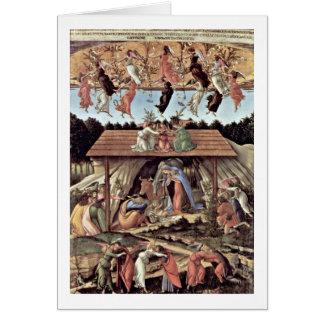 The Mystical Nativity By Sandro Botticelli Card