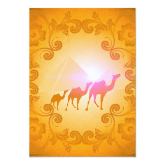 The myth and the secrets of the pyramids card
