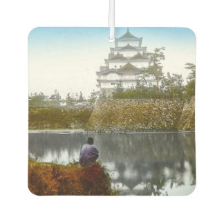 The Nagoya Castle of Old Japan Vintage Japanese