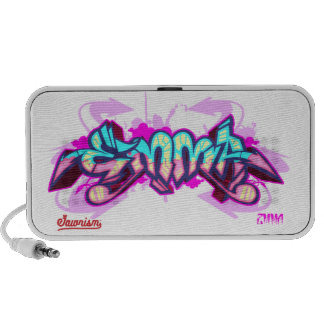 The name Emma in graffiti-Doodle Portable Speaker
