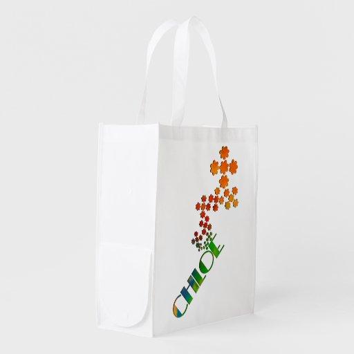 The Name Game - Chloe Reusable Grocery Bag