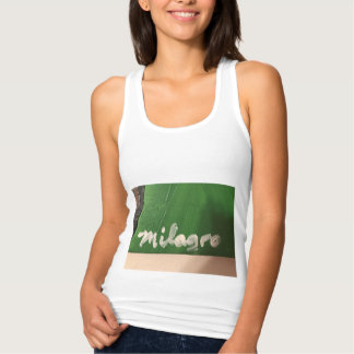 The name Milagro can't get any more Latino! Singlet