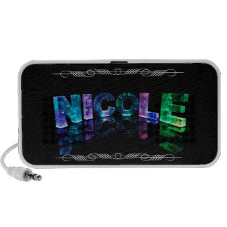 The Name Nicole -  Name in Lights (Photograph) Mp3 Speakers