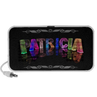 The Name Patricia -  Name in Lights (Photograph) Travel Speaker